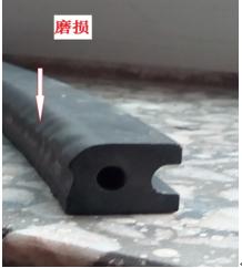 炭精环非正常磨损
